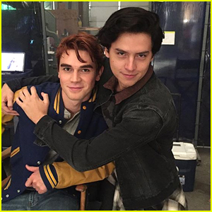 Cole Sprouse Turns To 'Riverdale' Co-Star KJ Apa For Fitness Inspiration