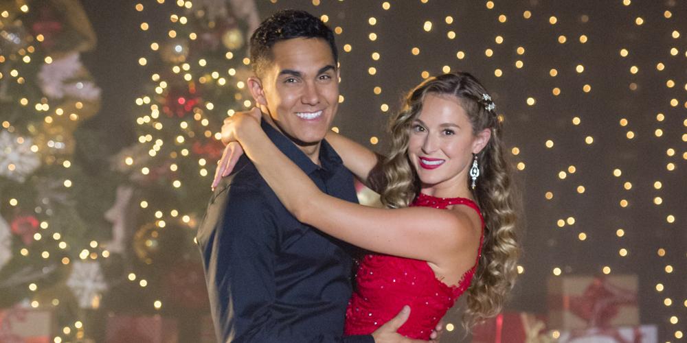 Enchanted Christmas.Alexa Carlos Penavega S Hallmark Movie Enchanted
