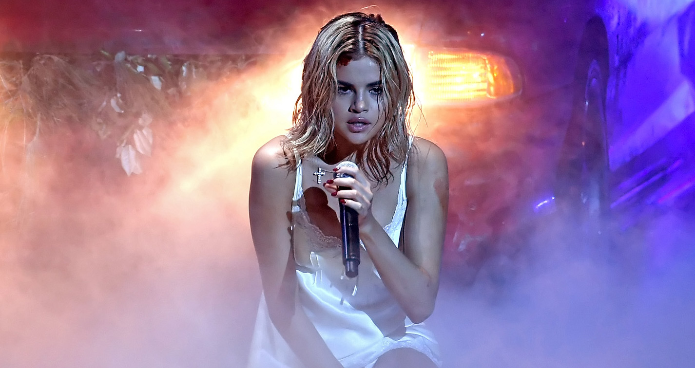 Selena Gomez Gets Bloody & Emotional For 'Wolves