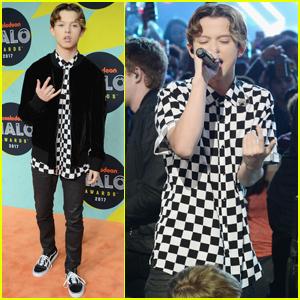 Jacob Sartorius Hits The Carpet At Nickelodeon Halo Awards 2017