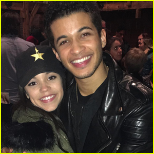 Jenna Ortega Has Jordan Fisher's DWTS Number On Speed Dial (Exclusive)