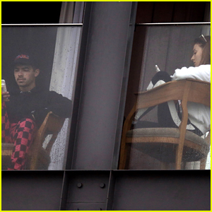 Joe Jonas & Fiancee Sophie Turner Relax at Their Rio de Janeiro Hotel Before Leaving Town