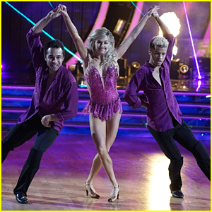 Jordan Fisher & Corbin Bleu Become The Ultimate Team For Trio Dance on DWTS Season 25 Week #8 (Video)