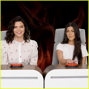 Kendall Jenner & Kourtney Kardashian Answer All of Ellen's Burning Questions - Watch Now!