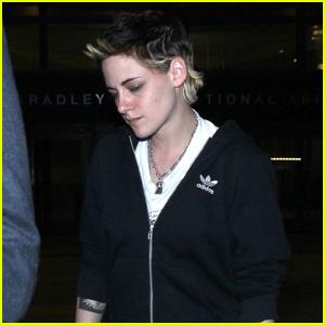 Kristen Stewart Arrives Back in LA Ahead of Thanksgiving!