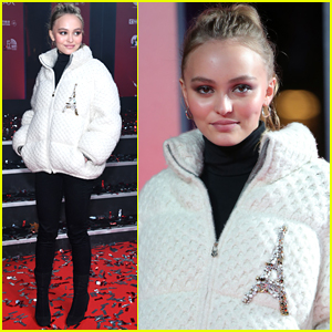 Lily-Rose Depp Turns on the Christmas Lights in Paris!