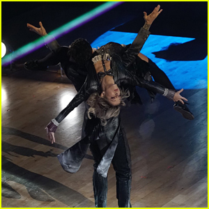 Lindsey Stirling & Mark Ballas Become Conductors For Freestyle 'DWTS' Season 25 Finale (Video)
