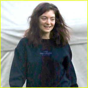 Lorde Wears a Melodrama Sweater Ahead of Perth Show