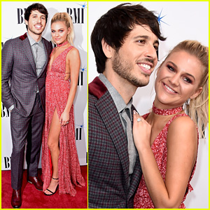 Kelsea Ballerini & Fiance Morgan Evans Make Such a Cute Red Carpet Couple!