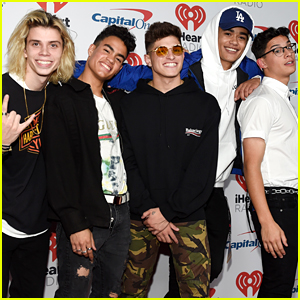PRETTYMUCH Reveal What's in Each Other's Phones! (Video)