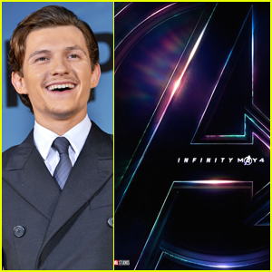 Tom Holland Accidentally Shares Confidential 'Infinity War' Poster on Instagram Live