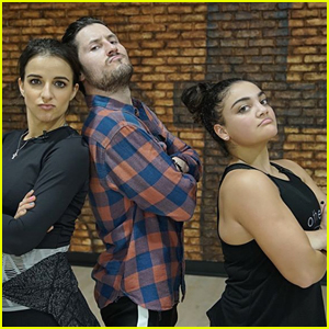 Laurie Hernandez Returns to DWTS for Trio Dance with Victoria Arlen & Val Chmerkovskiy (Video)