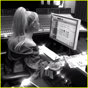 Ariana Grande Is Working on New Music - See Her Pics From the Studio!