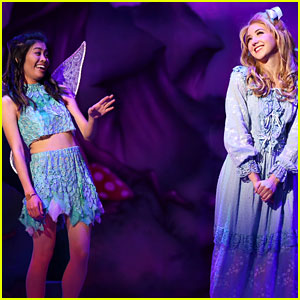 Audrey Whitby & Ashley Argota Bring Wendy & Tinker Bell to the Stage