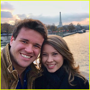 Bindi Irwin Shares Photos From Paris Vacation With Boyfriend Chandler Powell