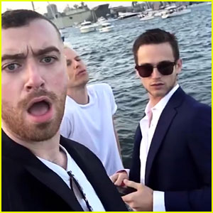Brandon Flynn & Sam Smith Are Spending New Year's Together