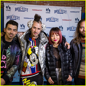 DNCE Shows Love to Military Members With a Performance at BaseFest!