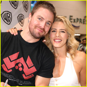 Emily Bett Rickards Recalls The First Time She Met 'Arrow' Co-star Stephen Amell