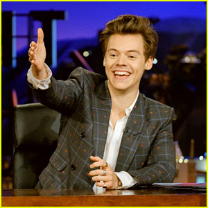 Harry Styles Guest Hosts Corden's Show After He Welcomes a Baby!