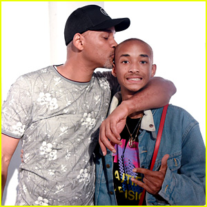Jaden Smith Supports His BFF at Art Basel with Dad Will Smith!