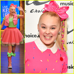 JoJo Siwa Wears Bright Pink To Two Appearances in NYC