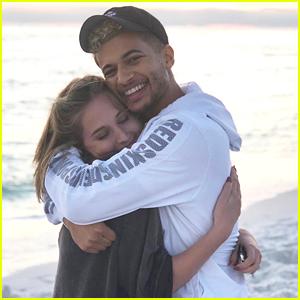 Jordan Fisher Calls Girlfriend Ellie Woods The 'Love Of His Life' (Video)