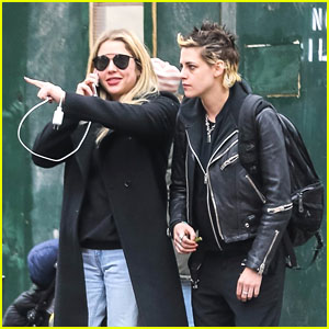 Ashley Benson & Kristen Stewart Head Out on the Town in NYC!