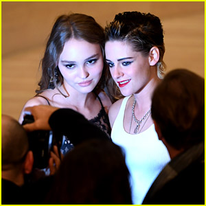 Kristen Stewart & Lily-Rose Depp Take Photos Together at Chanel Event in Germany!