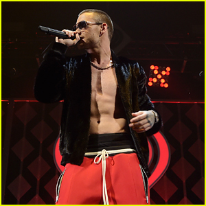 Liam Payne Gives Fans An Early Christmas Gift: Him Shirtless at Jingle Ball Miami