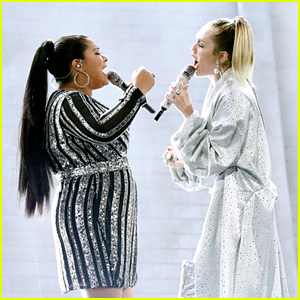 Miley Cyrus Performs 'Wrecking Ball' with Her 'The Voice' Contestant! (Video)
