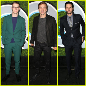 Chronicles of Narnia's Will Poulter, Ben Barnes & William Moseley Meet Up at GQ Men of the Year Party