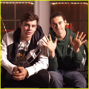 Nash & Hayes Grier Share Their Top 10 New Year's Resolutions - Watch!