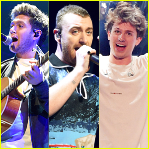 Niall Horan, Sam Smith, & Charlie Puth Rock Out at Z100 Jingle Ball 2017 in NYC!