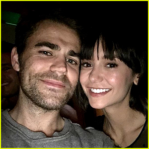 Nina Dobrev & Paul Wesley Have a 'Vampire Diaries' Reunion in NYC