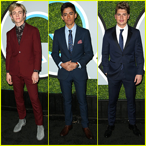 Ross Lynch, Karan Brar & Gregg Sulkin Suit Up So Sharp For GQ's Men of the Year Party
