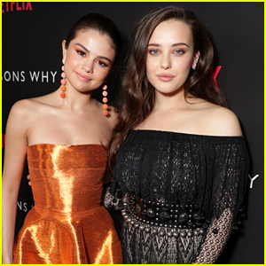 Selena Gomez Sends Congrats to Katherine Langford on Her Golden Globe Nomination for '13 Reasons Why'