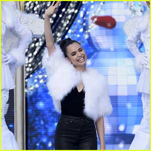 Sofia Carson is 'Chillin' Like A Snowman' on Tonight's 'Disney Channel Holiday Celebration' - Listen Now!