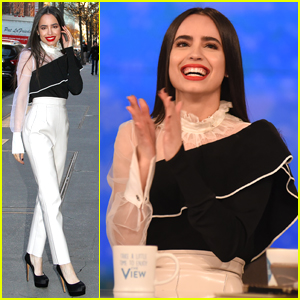 Sofia Carson Talks 'Descendants 3' Possibilities on 'The View' - Watch Now!