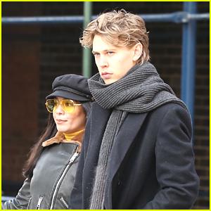Vanessa Hudgens & Austin Butler Couple Up in NYC