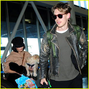 Vanessa Hudgens Flies Home with Austin Butler After Her Birthday!