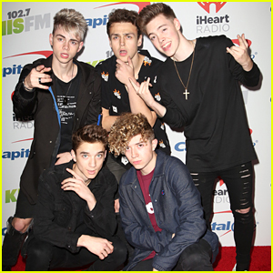 Why Don't We Have Time Of Their Lives at Jingle Ball LA