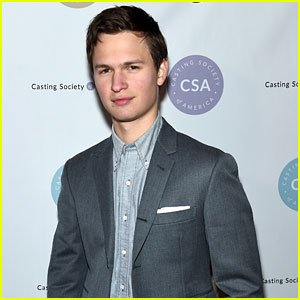 Ansel Elgort Suits Up for Artios Awards 2018