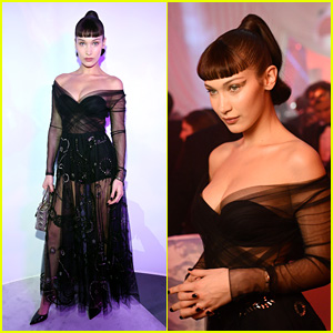 Bella Hadid Brings the Dramatic Glamour at Dior Masquerade Ball 2018!