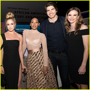 Candice Patton, Danielle Panabaker & Caity Lotz Celebrate 'Black Lightning' Premiere in D.C.