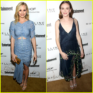 Candice King & Danielle Panabaker Are Party Perfect For EW's SAG Bash