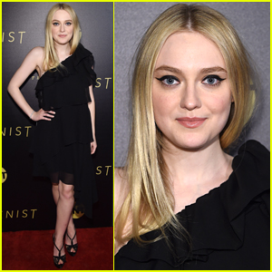Dakota Fanning Goes Pretty in Black for 'The Alienist' Premiere in NYC