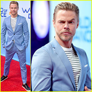 Derek Hough Suits Up For 'World of Dance' Promo