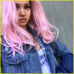 Dove Cameron Shows Off New Pink Hair in New Instagram
