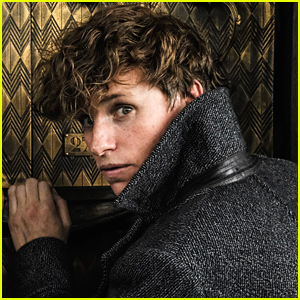 Eddie Redmayne Returns as Newt Scamander in New 'Fantastic Beasts' Photos!
