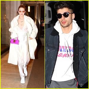Gigi Hadid & Zayn Malik Stay Stylish While Hitting the Town in NYC!